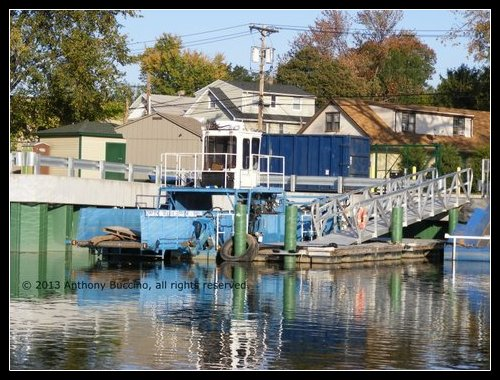Passaic River - Passaic Valley Sewerage Commission dock