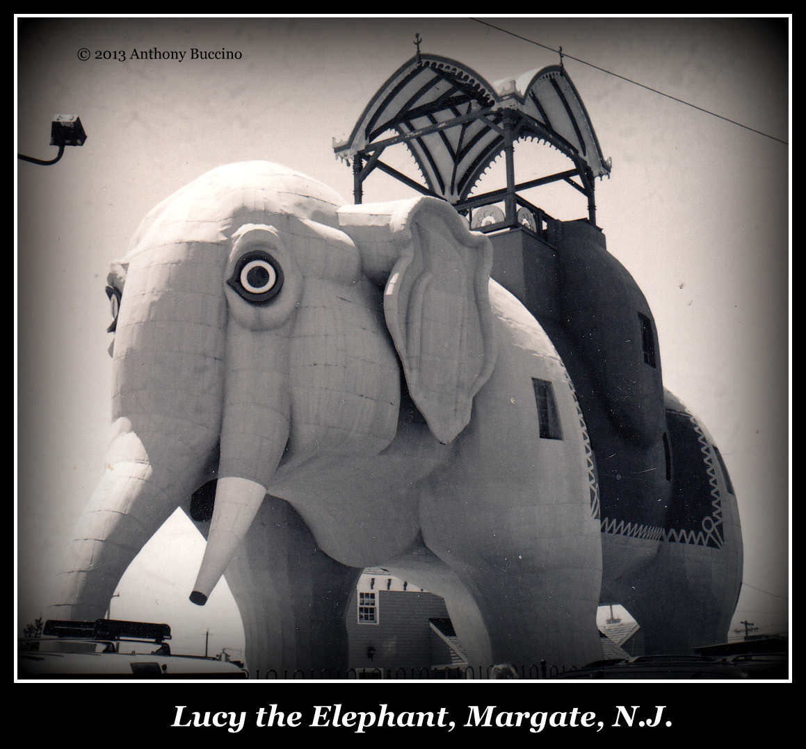 the Margate Elephant, Iconic tourist magnet, Jersey Shore by Anthony Buccino