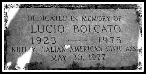 Lucio Bolcato memorial, died trying to save drowning boys, 1975