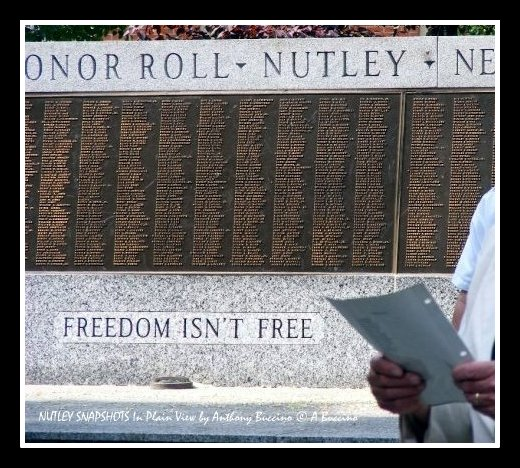 WW2 Memorial, Nutley NJ by Anthony Buccino - Freedome Isn't Free
