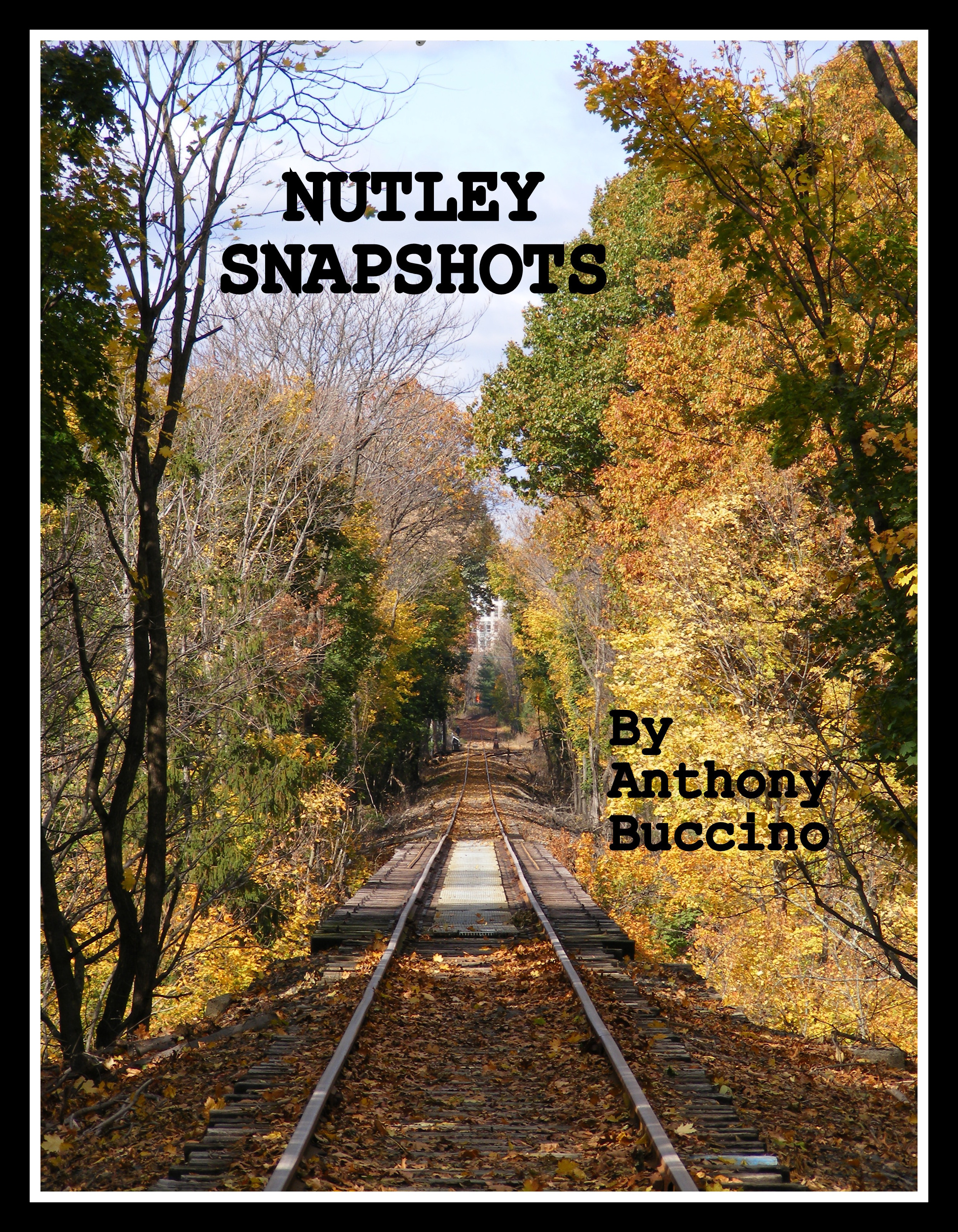 NUTLEY SNAPSHOTS In Plain View by Anthony Buccino - early cover